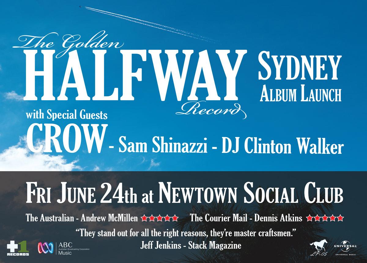 Halfway: Sydney Album Launch